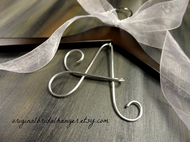Custom Wedding Dress Hangers 3 Beautiful HOLIDAY SALE I am