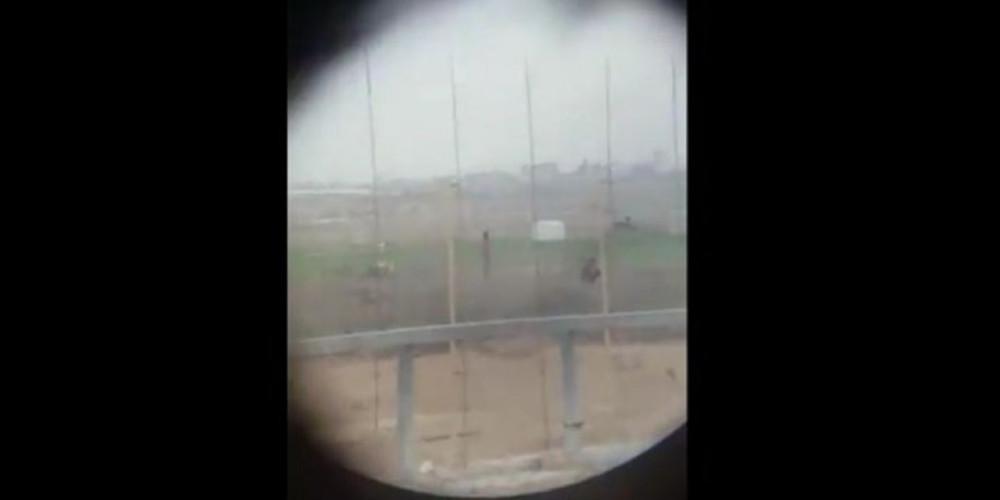 Βίντεο-σοκ: Ελεύθερος σκοπευτής πυροβολεί άοπλο Παλαιστίνιο
