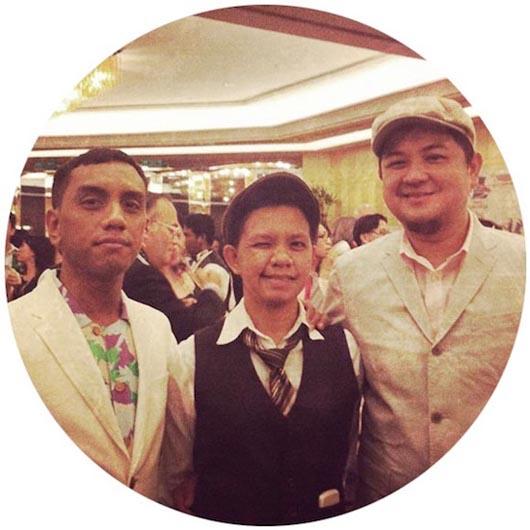 Us, Muid Latif, Abby Latif & Rizal Effendie