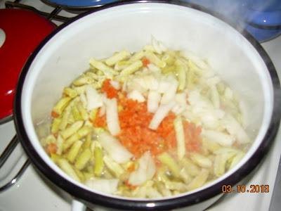 Recept: Corba od boranije ( i cuspajz)