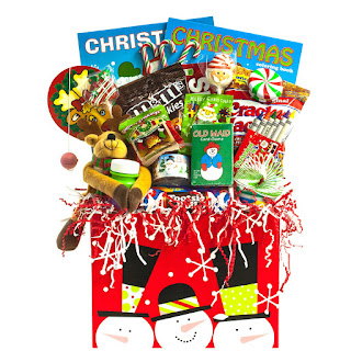 "Unique Gift for Children: ""Creative Kids"" Christmas Gift Basket for Kids"
