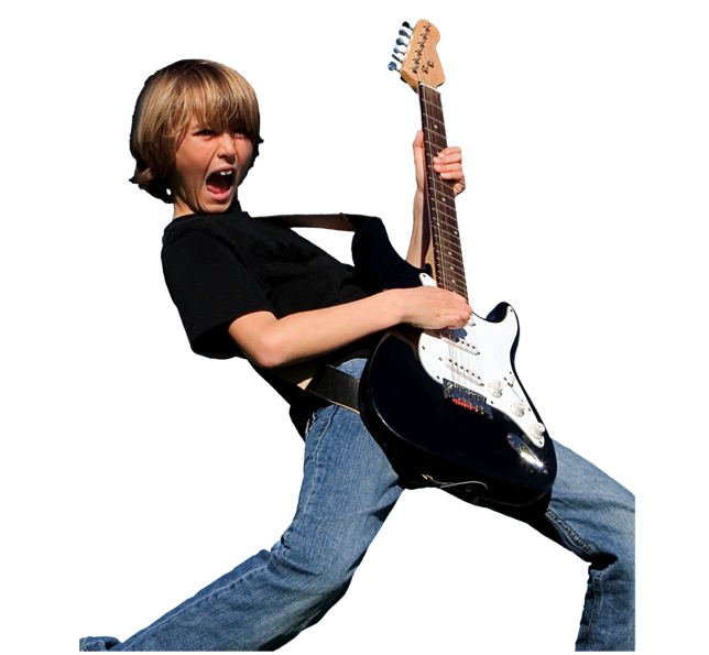 Image result for kid playing guitar