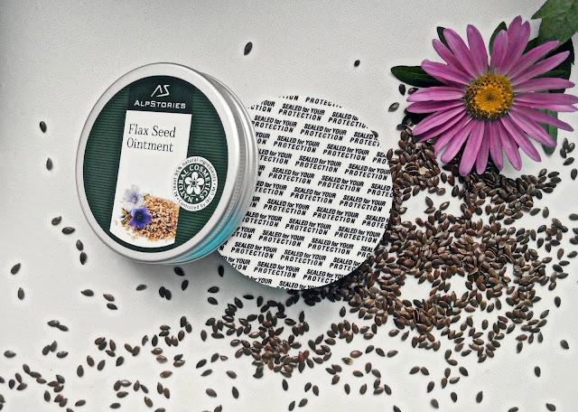 AlpStories Косметическое средство с семенами льна