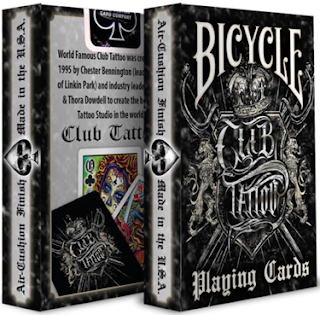 The forum for cardistry magic for Bicycle club tattoo deck