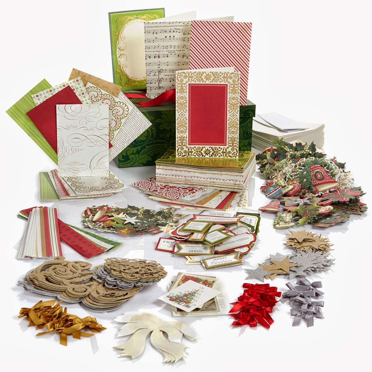 The Paper Boutique: Anna Griffin Holiday Trimmings Cardmaking Kit