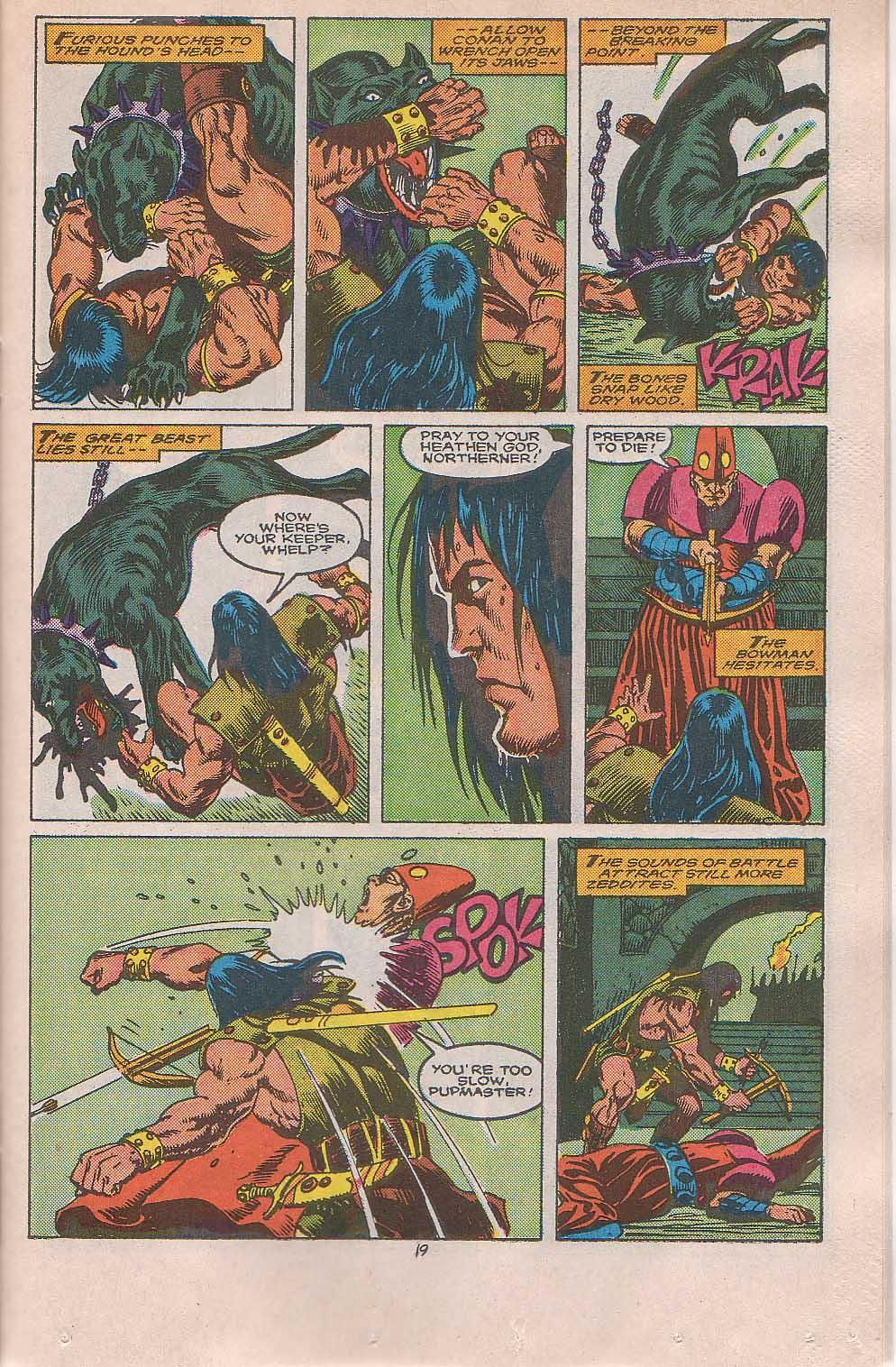 Conan the Barbarian (1970) Issue #216 #228 - English 16