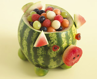 Annabel Karmel watermelon pig