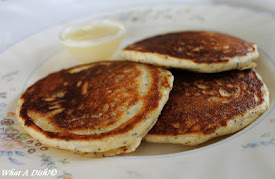 Almond Poppy Seed Pancakes for Fat Tuesday!