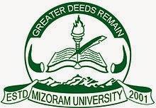 Mizoram University Result 2016