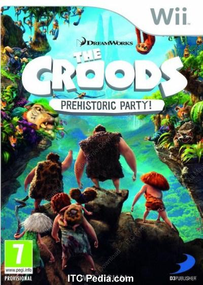 The Croods Prehistoric Party PAL Wii - WiiZARD - SCRUB