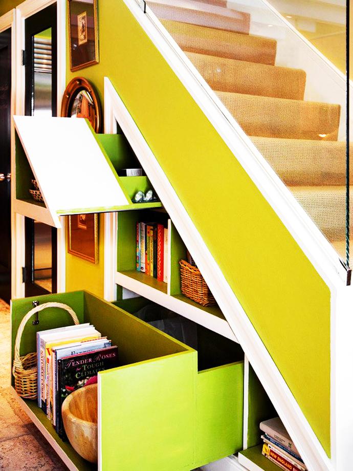 Desain Tangga Rumah Multifungsi