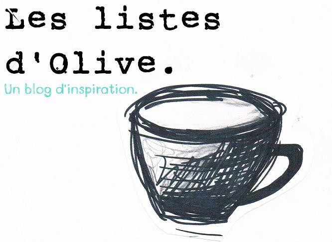 Les listes d'Olive.