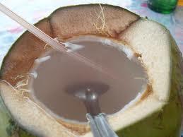 air kelapa, kelapa muda, kelapa, es kelapa muda,