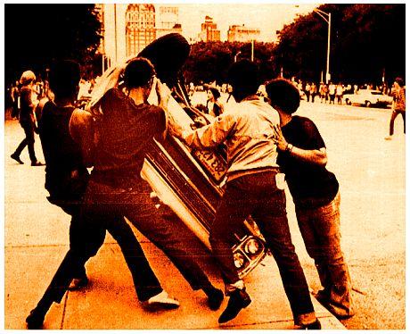 """Φασαριες στο κονσερτο του """"Sly & The Family Stone"""". ιουλιο 1970, Chicago.  007"""