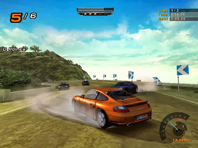 nfs hot pursuit 2 gameplay screenshot