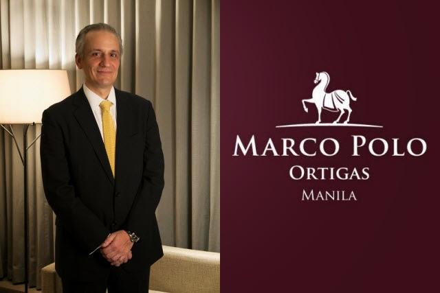 Marco Polo Ortigas Manila General Manager Adriano Veneces