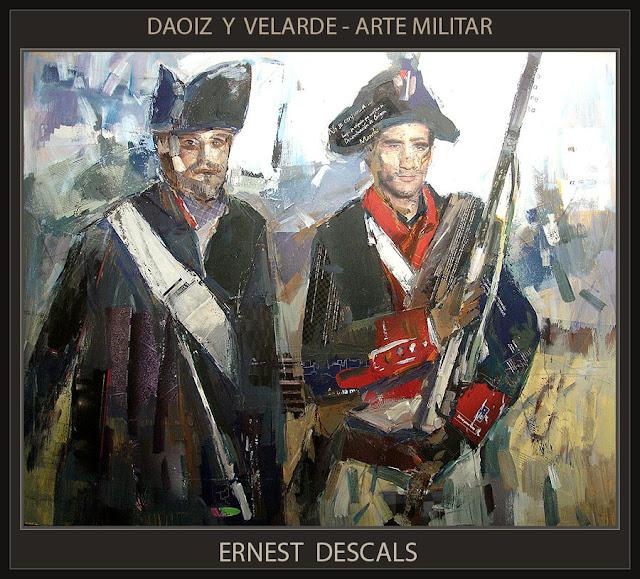 DAOIZ Y VELARDE-ARTE MILITAR-PINTURA-GUERRA INDEPENDENCIA-ESPAÑA-CUADROS-PERSONAJES-HISTORICOS-PINTOR-ERNEST DESCALS-