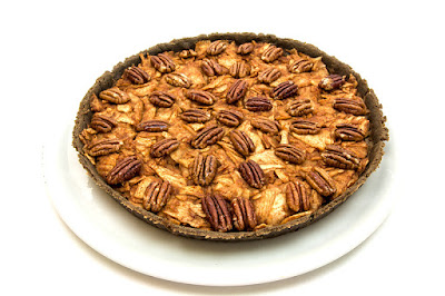 Apple pie with pecan