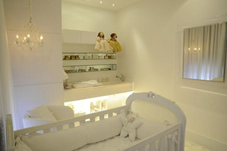 Dormitorios blancos para bebe dormitorios fotos de for Disenador virtual de habitaciones