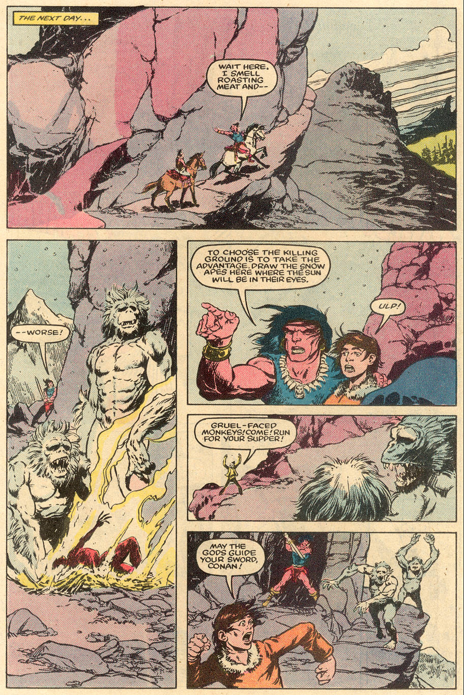 Conan the Barbarian (1970) Issue #164 #176 - English 10
