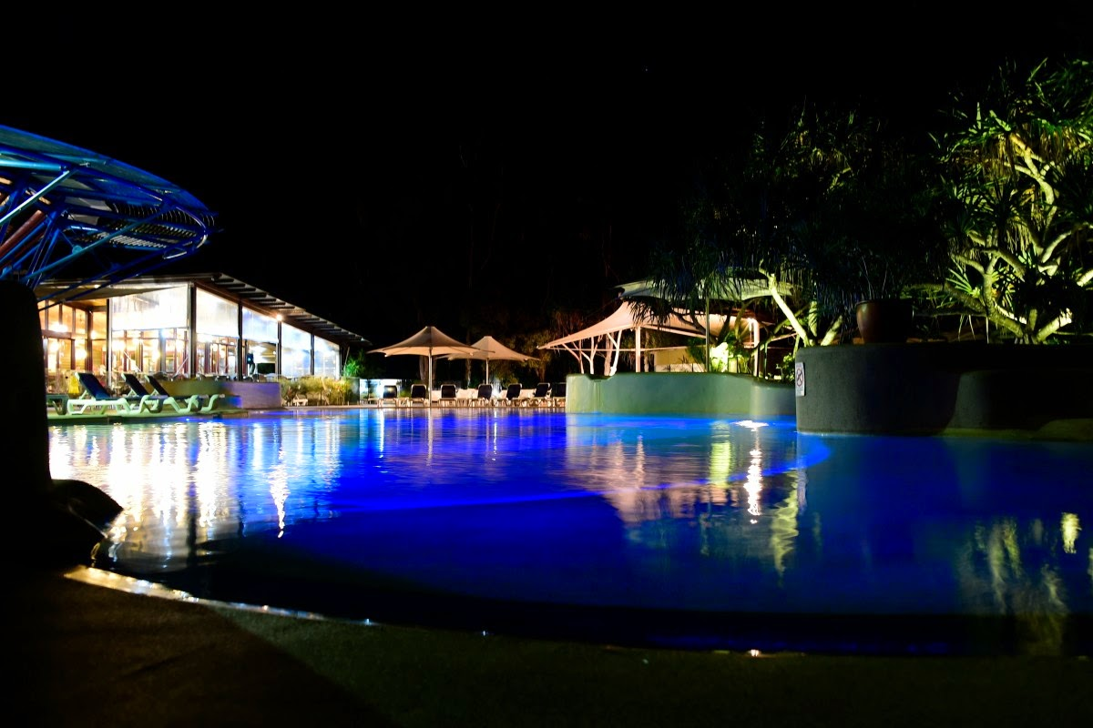 Life on fraser island 2015 the main pool at kingfisher bay resort fraser island geenschuldenfo Images