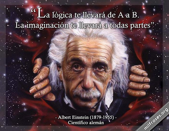 frases de Albert Einstein 1879-1955. Científico nacido en Alemanía, nacionalizado estadounidense. Es uno de los científicos más conocidos y trascendentes del Siglo XX.