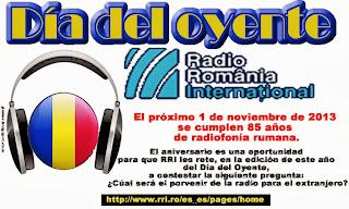 Rumania: Dia del Oyente en Radio Rumani Internacional