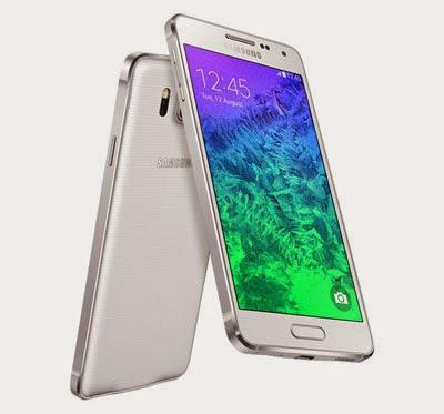 Gambar Hp Samsung Galaxy Alpha Putih