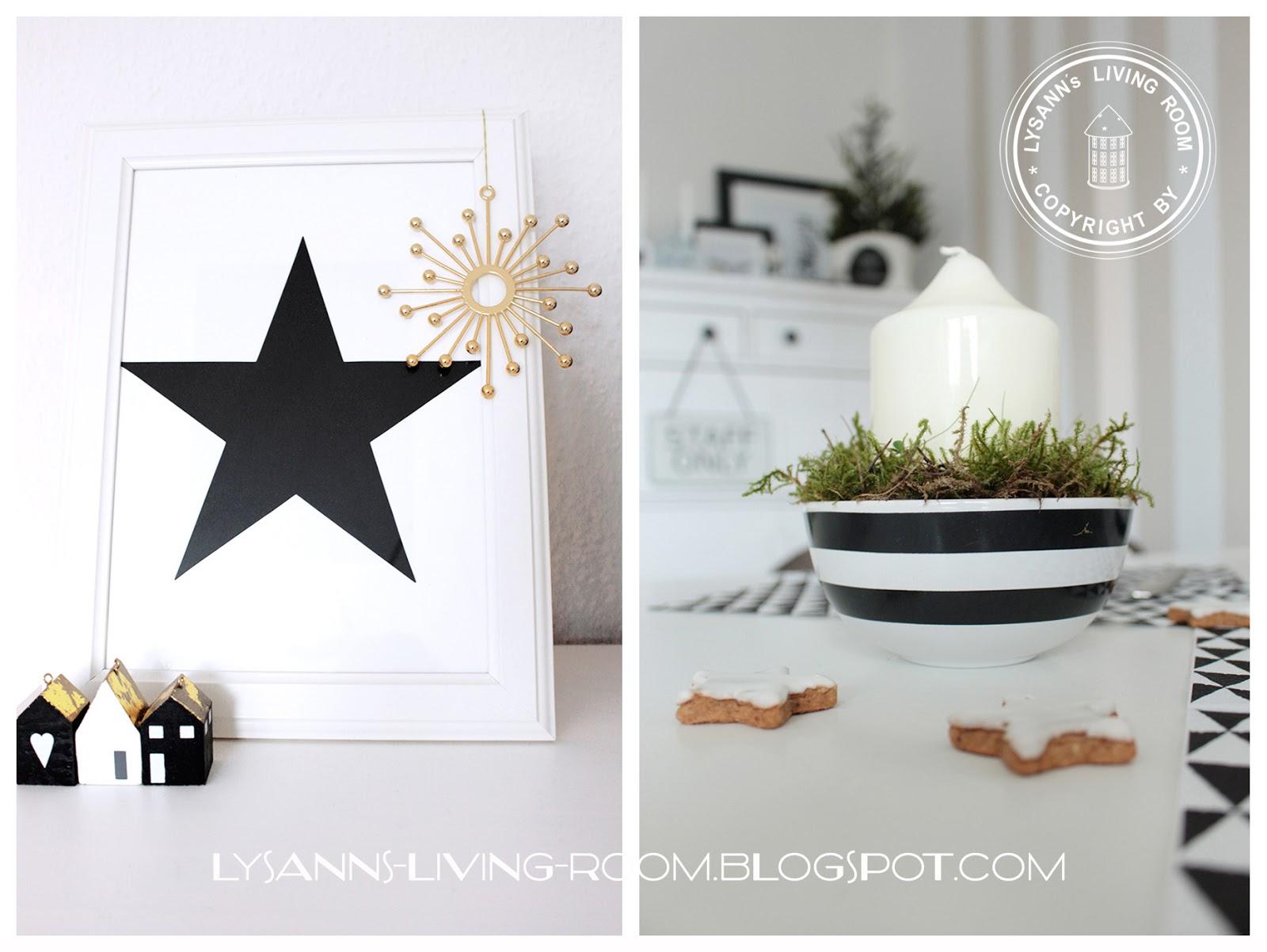 weihnachtsdeko schwarz my blog. Black Bedroom Furniture Sets. Home Design Ideas
