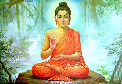 Медитирующий Будда.
