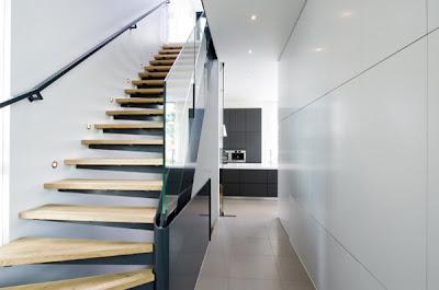 desain tangga untuk lantai 2 rumah minimalis (12 gambar