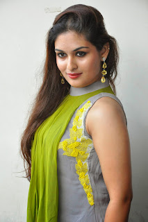 Actress Prayaga Martin Latest Picture Gallery at Pisachi Movie Success Meet 016.JPG
