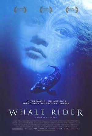 whale rider jinete de ballenas poster pelicula