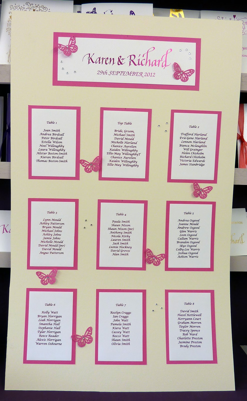 wedding table plans template