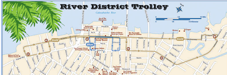 BikeWalkLee Blog Trolley Service coming to Downtown Fort Myers Nov