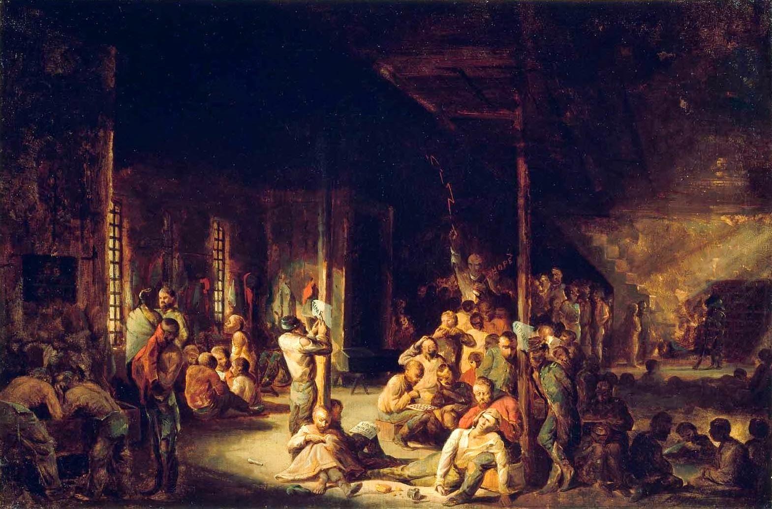 The Civil War 150th Blog Escape From Libby Prison