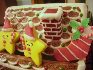 biscotti decorati per natale...