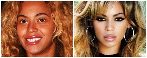 beyonce antes y despues