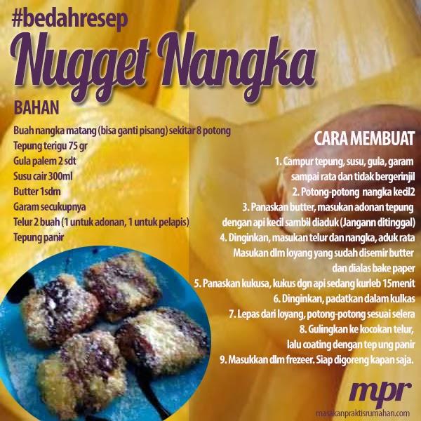Nugget Ayam Tahu: Nugget Nangka/Nugget Pisang Praktis