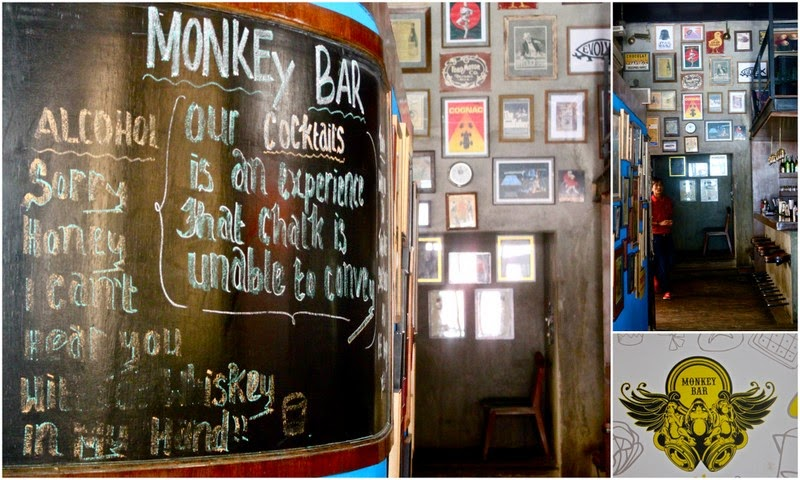 Old Monkey New Tricks..New Menu @Monkey Bar, Wood Street