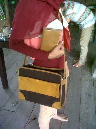 kursus membuat tas kulit_contoh karya