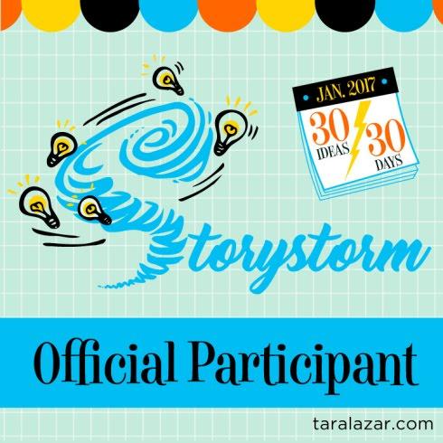 2017 StoryStorm Participant