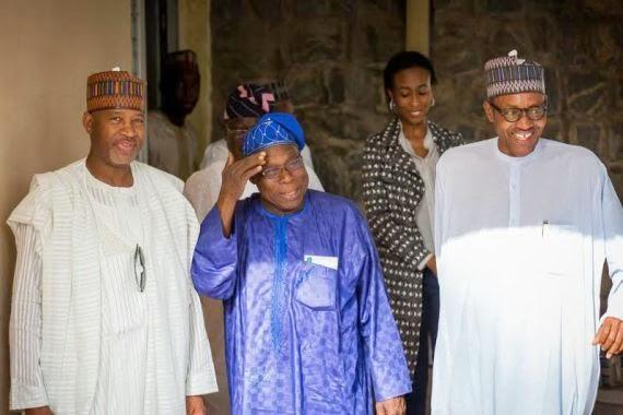 buhari obasanjo meeting jonathan