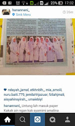 Featured on Berita Harian [ 15 April 2015 ]