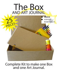 Perfect for Therapeutic Art Journaling where pictures replace words!