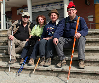 Caminada entre Polinyà, Sentmenat i Castellar del Vallès 2011