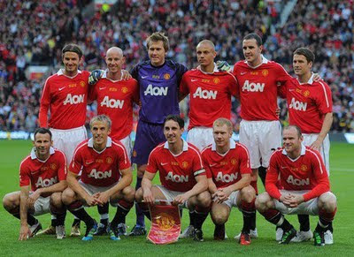 Friendly Match Squad Team Manchester United vs Juventus