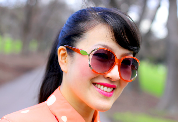 Kookai Orange Sunglasses