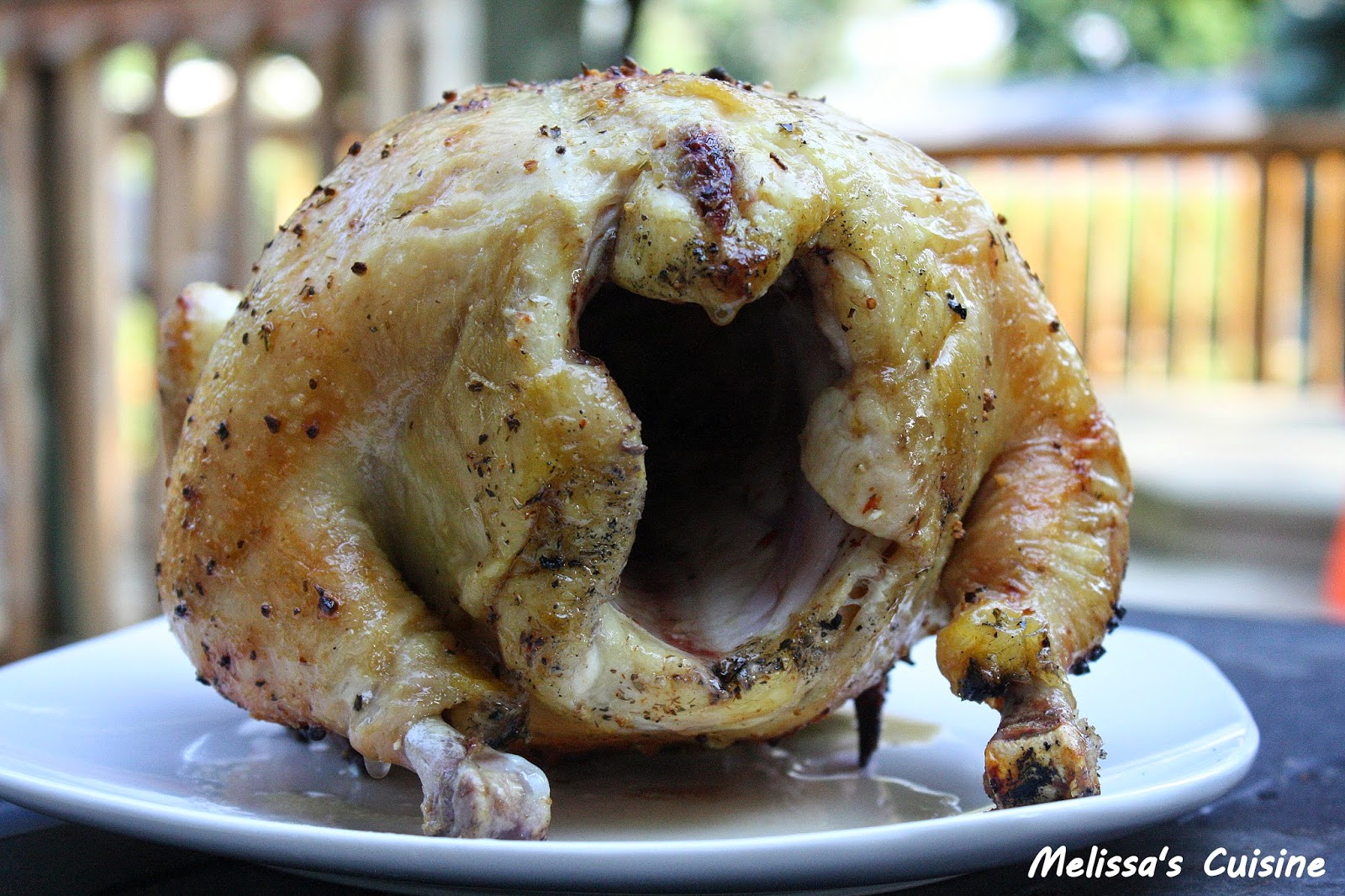 Melissa's Cuisine: Beer Can Chicken