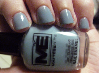 mattese elite attitude nail polish swatch review